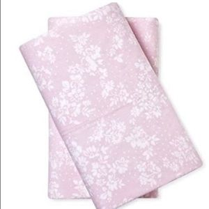2 Cal king simply shabby chic pillow cases